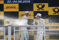 Podium: Marco Wittmann, BMW Team RMG, Edoardo Mortara, Mercedes-AMG Team HWA