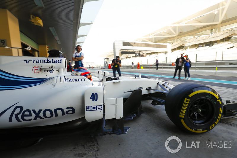 Test oficial con Williams