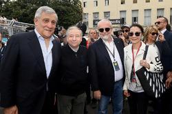 Jean Todt, Presidente FIA, con degli ospiti VIP