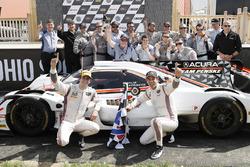 Race winners Helio Castroneves, Ricky Taylor, Acura Team Penske