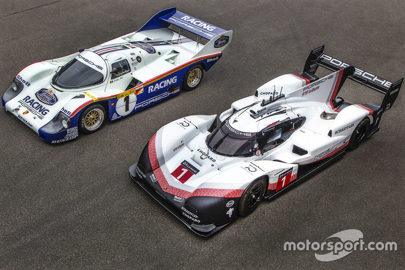 Porsche 956 C, Porsche 919 Hybrid Evo