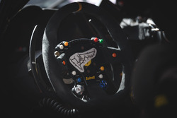 Ferrari steering wheel detail