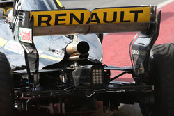 Renault Sport F1 Team RS18 rear wing detail