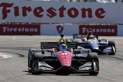 Robert Wickens, Schmidt Peterson Motorsports Honda,Alexander Rossi, Andretti Autosport Honda