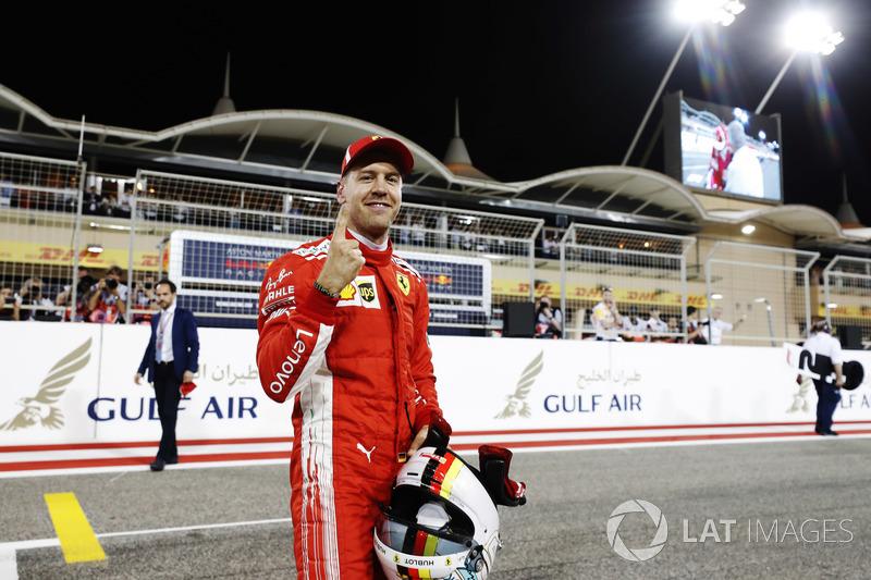 Peraih pole Sebastian Vettel, Ferrari SF71H