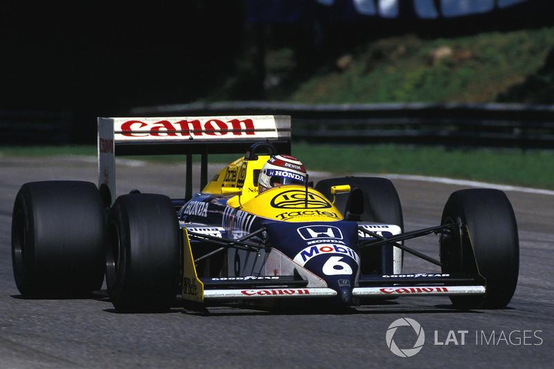 1987: Williams FW11B Honda (9 побед, 1-е место в КК)