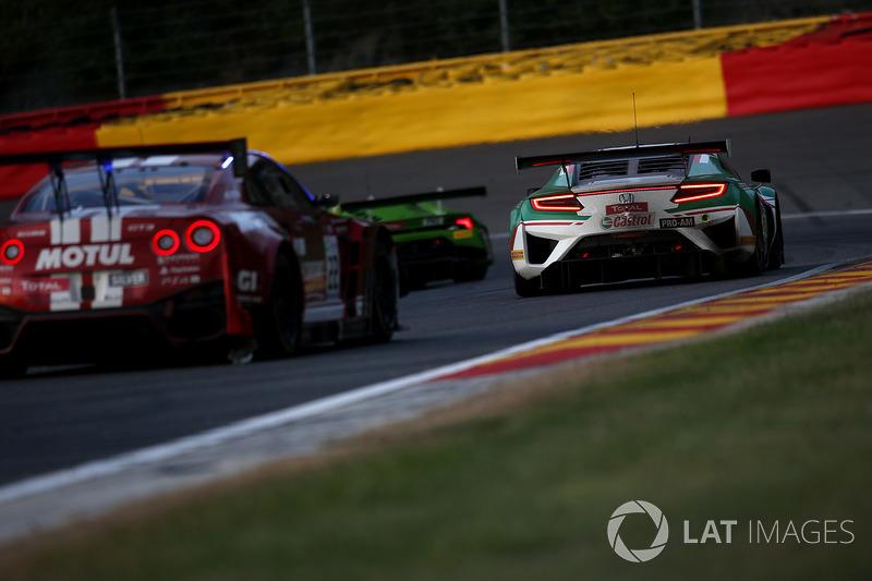 #30 Castrol Honda Racing Acura Honda NSX GT3: Riccardo Patrese, Loic Depailler, Bertrand Baguette, Esteban Guerrieri