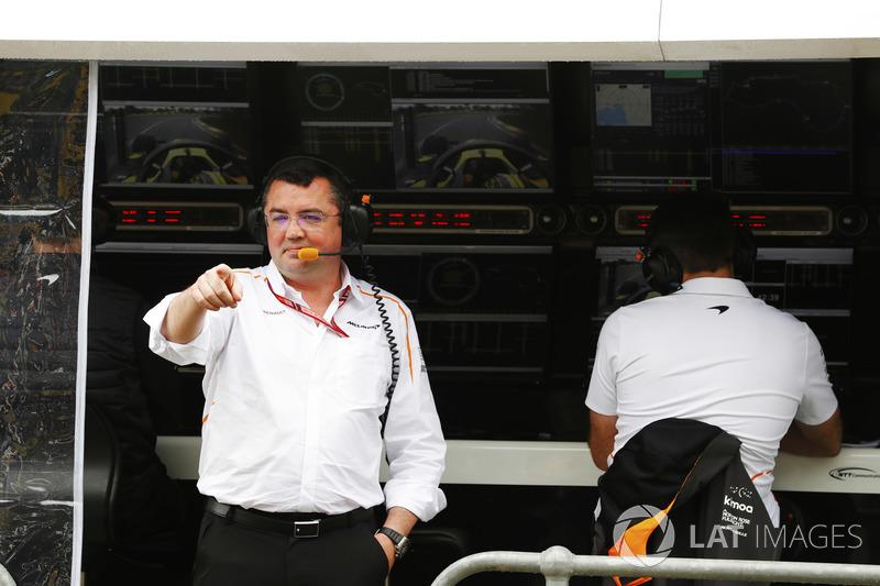 Eric Boullier, directeur de la compétition, McLaren