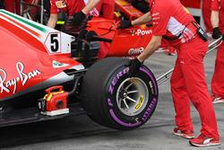 Sebastian Vettel, Ferrari SF-71H rear