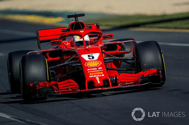 1. Sebastian Vettel, Ferrari SF-71H