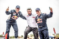 Ganador coches  Carlos Sainz, Lucas Cruz, Peugeot Sport