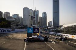 Edoardo Mortara, Venturi Formula E Team leads Daniel Abt, Audi Sport ABT Schaeffler