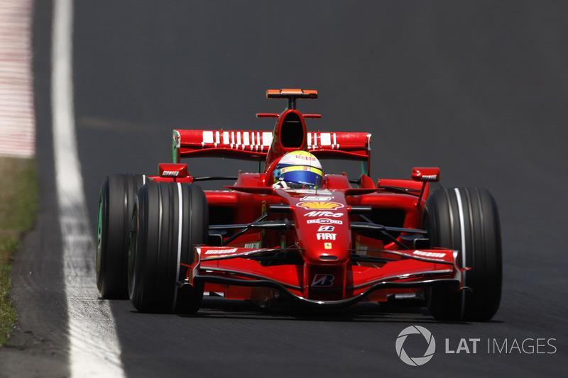 2007: Ferrari F2007 - 94 puan, pilot şampiyonasını dördüncü sırada bitirdi