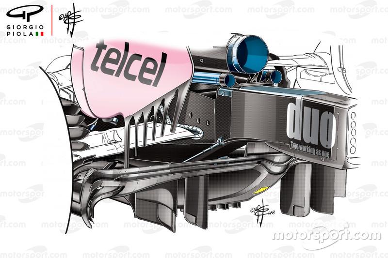 Диффузор Force India VJM11