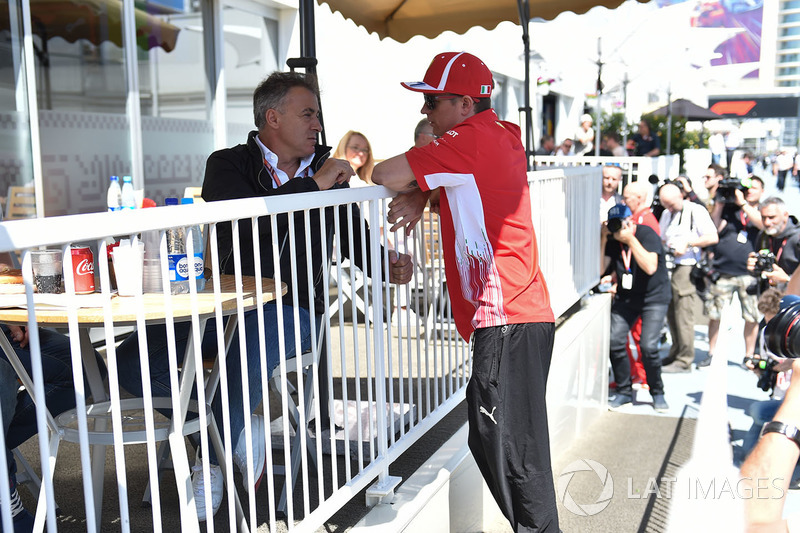Kimi Raikkonen, Ferrari ve Jean Alesi