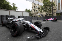 El coche de Sergey Sirotkin, Williams FW41