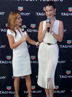 Geri Halliwell Horner and Bella Hadid