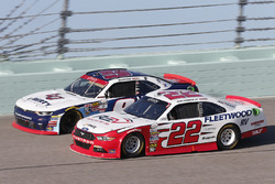 Sam Hornish Jr, Team Penske Ford, William Byron, JR Motorsports Chevrolet