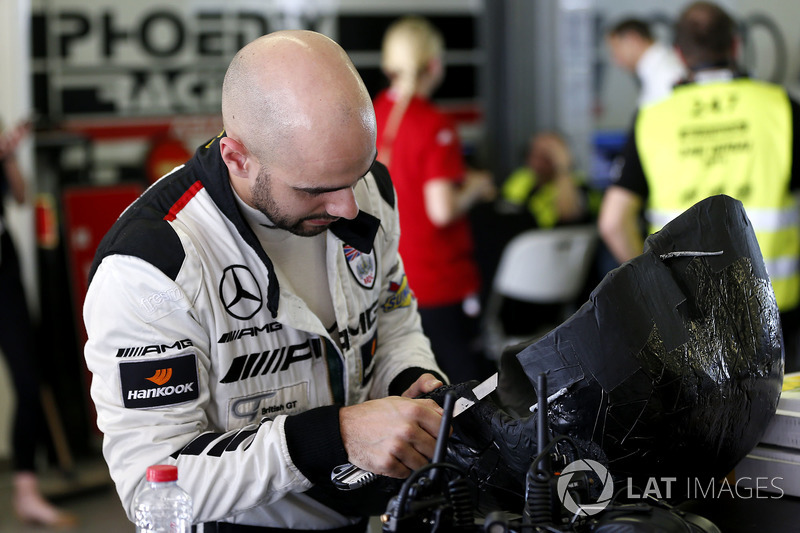 #85 PROsport Performance Mercedes-AMG GT3: Adam Christodoulou