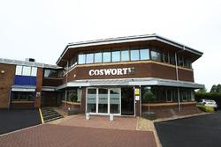 La fábrica Cosworth en Northampton
