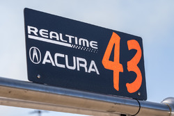 RealTime Racing Acura team signage