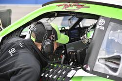 Kyle Busch, Joe Gibbs Racing, Toyota Camry Interstate Batteries Adam Stevens