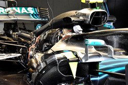 Mercedes AMG F1 W09 engine view