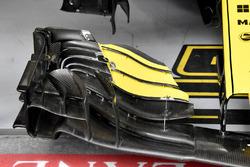 L'aileron avant de Carlos Sainz Jr., Renault Sport F1 Team R.S. 18