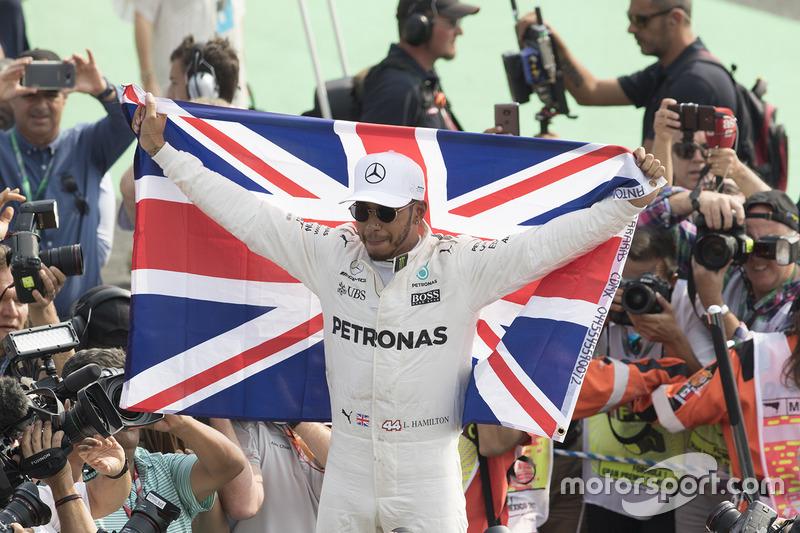 Lewis Hamilton (2008, 2014, 2015, 2017 y 2018)