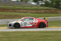#45 Flying Lizard Motorsports Audi R8 LMS GT4: Mike Hedlund