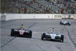 Robert Wickens, Schmidt Peterson Motorsports Honda, Josef Newgarden, Team Penske Chevrolet