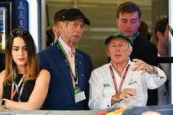 Jackie Stewart, con el duque de Kent