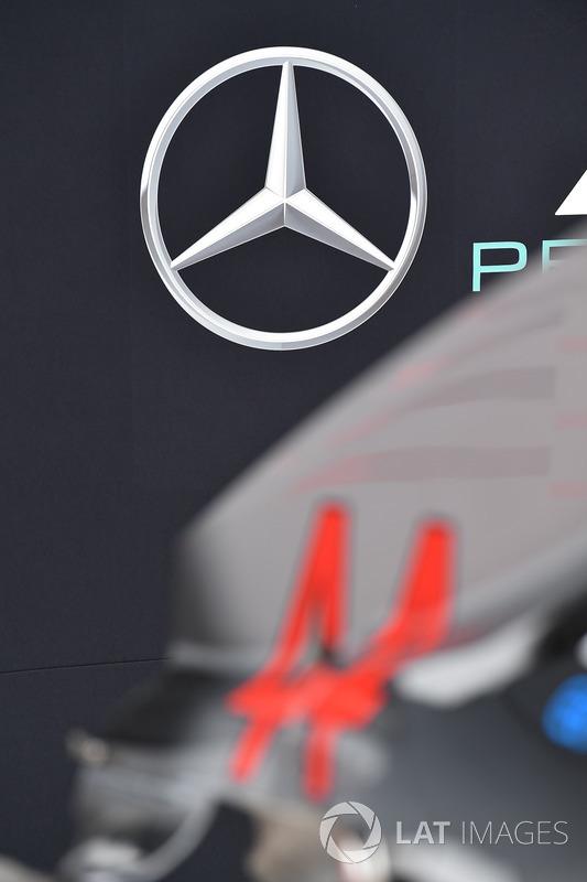 Le logo Mercedes AMG F1