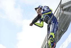 Подіум: третє місце Валентино Россі, Yamaha Factory Racing