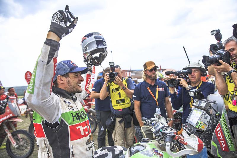 Победитель в зачете квадроциклов: Игнасио Касале