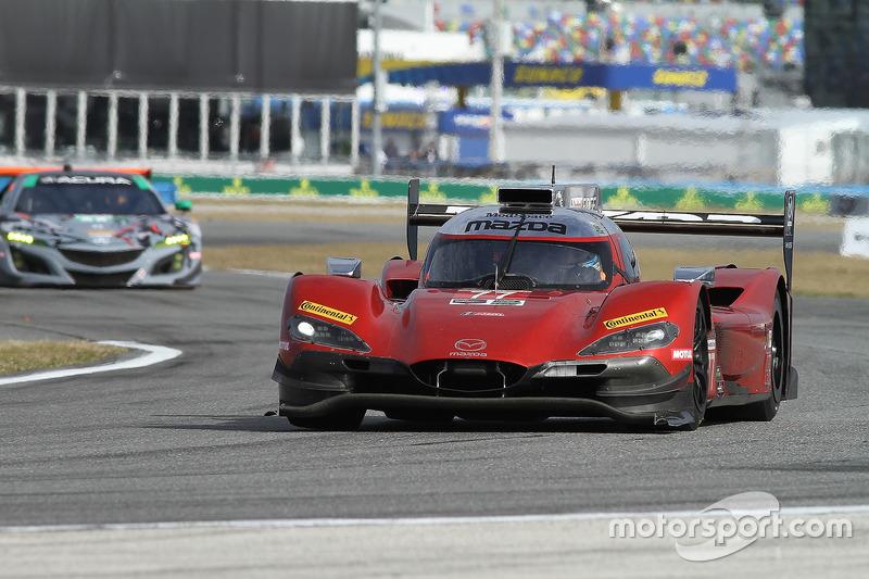 #77 Mazda Team Joest Mazda DPi, P: Oliver Jarvis, Tristan Nunez, René Rast