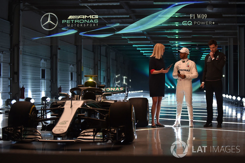 Lewis Hamilton, Mercedes AMG F1 y Toto Wolff