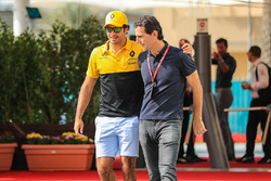 Carlos Sainz Jr., Renault Sport F1 Team ve Pedro De La Rosa