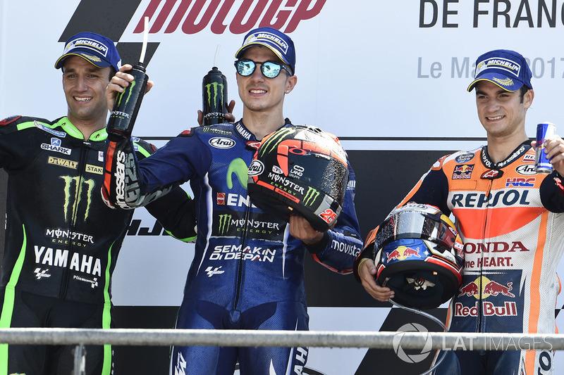 Vinales menang, Zarco podium perdana dan Pedrosa finis ketiga