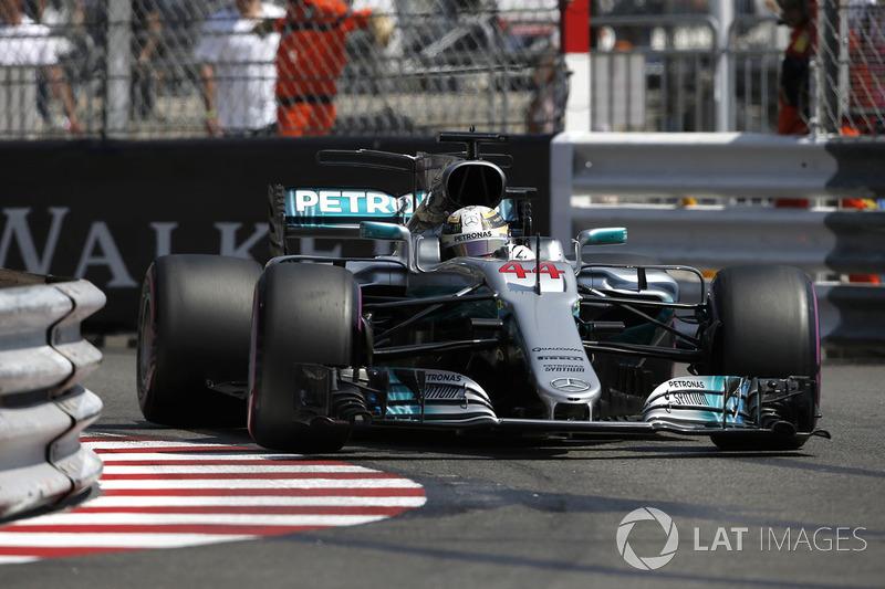 13: Льюис Хэмилтон, Mercedes AMG F1 W08