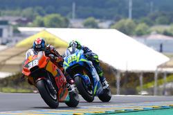 Bradley Smith, Red Bull KTM Factory Racing, Andrea Iannone, Team Suzuki MotoGP