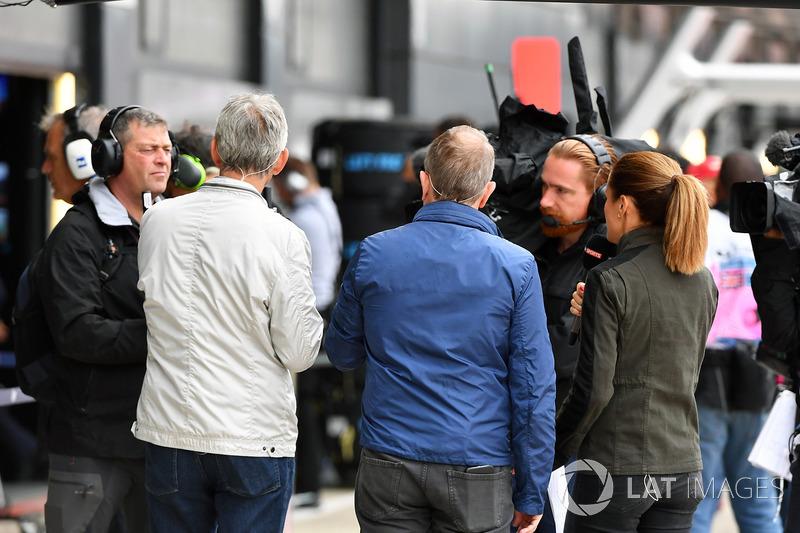 Damon Hill, Sky TV, Martin Brundle, Sky TV