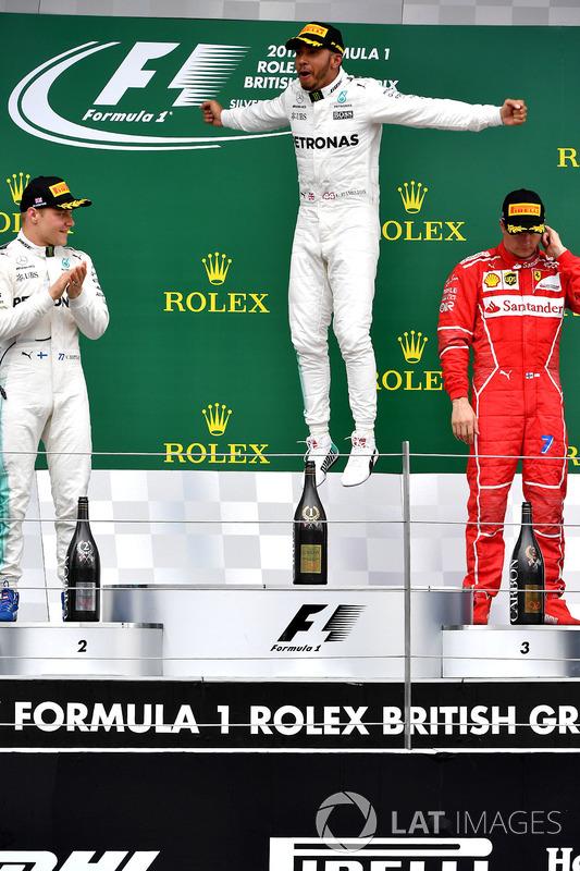 Льюіс Хемілтон, Mercedes AMG F1, Валттері Боттас, Mercedes AMG F1, Кімі Райкконен, Ferrari