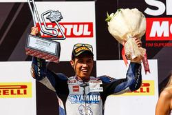 Podium : le deuxième, Decha Kraisart, Yamaha Thailand Racing Team