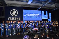 Foto de grupo Yamaha Racing