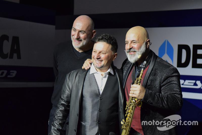 Fausto Gresini, Team Manager Gresini Racing Team con invitados