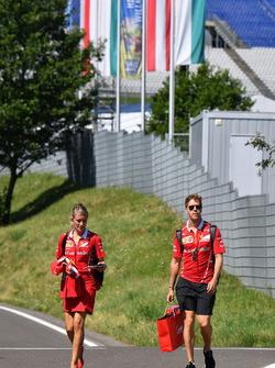 Sebastian Vettel, Ferrari, Britta Roeske