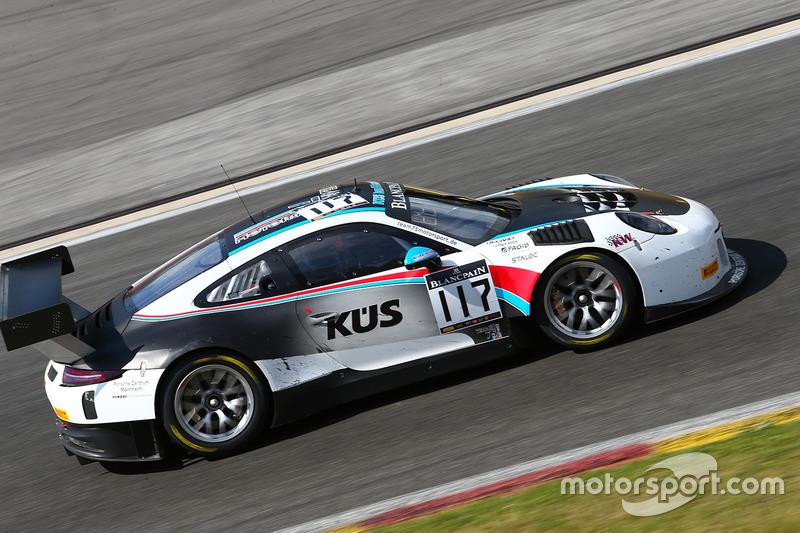 4. #117 Team 75 Bernhard, Porsche 911 GT3 R