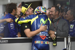 Second place qualifying for Valentino Rossi, Yamaha Factory Racing