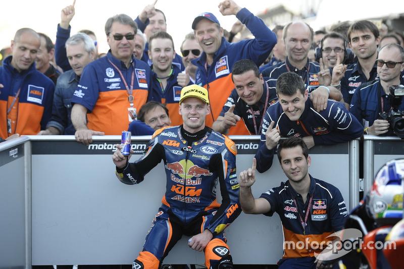 Ganador, Brad Binder, Red Bull KTM Ajo, KTM